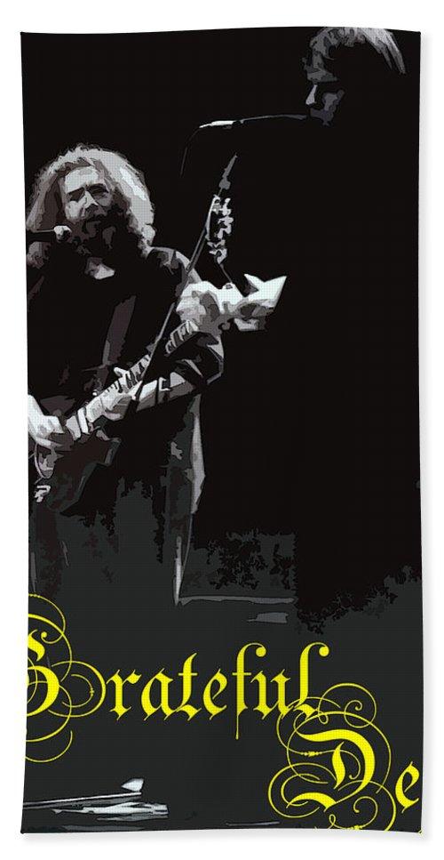 Grateful Bath Sheet featuring the photograph Grateful Dead by Susan Carella