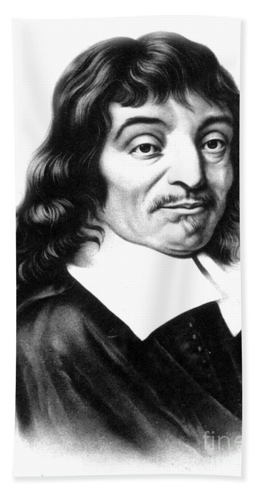 History Hand Towel featuring the photograph Ren� Descartes, French Polymath by Science Source