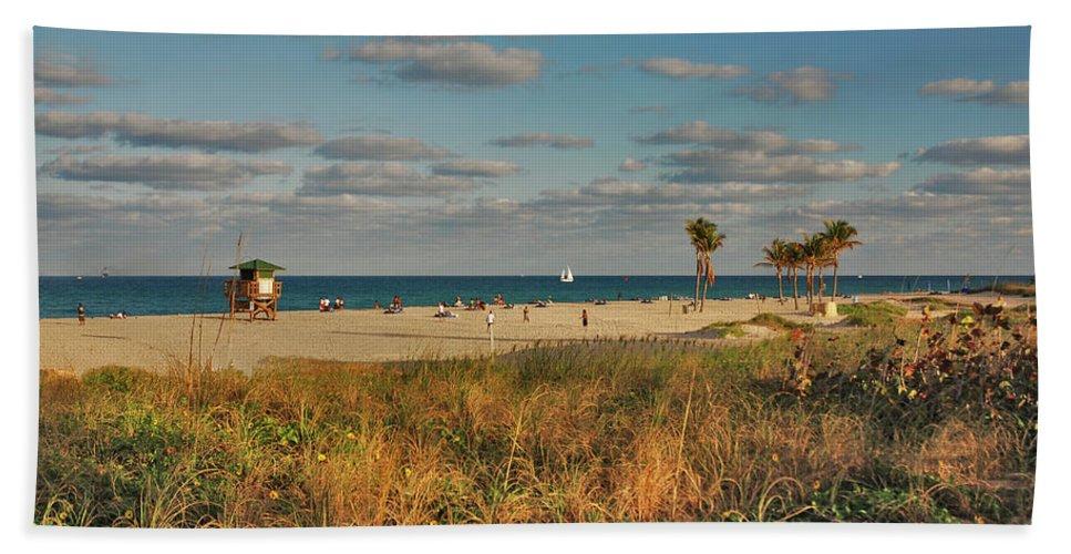 Beach Bath Sheet featuring the photograph 22- Beach by Joseph Keane