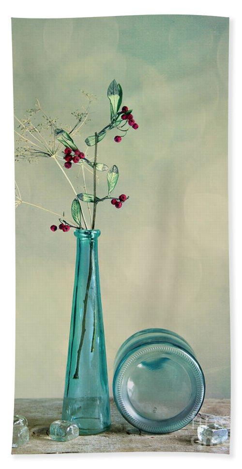 Glass Bath Towel featuring the photograph Autumn Still Life by Nailia Schwarz