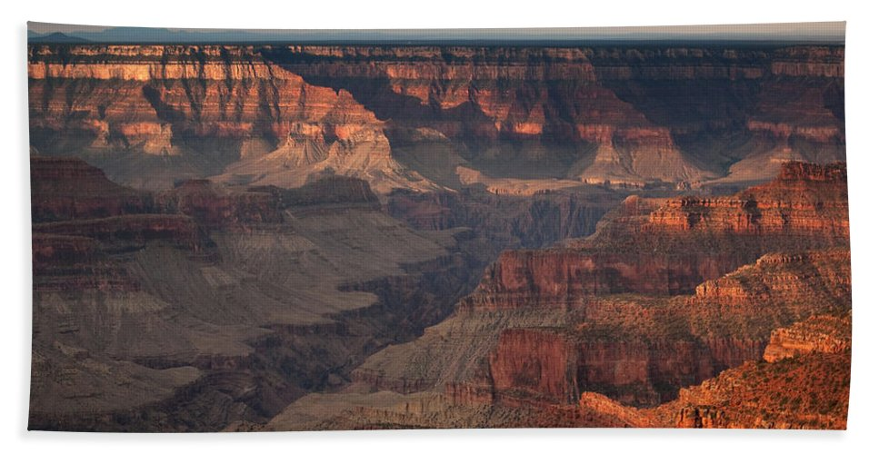 Usa Hand Towel featuring the photograph Grand Canyon Sunrise by Aurica Voss