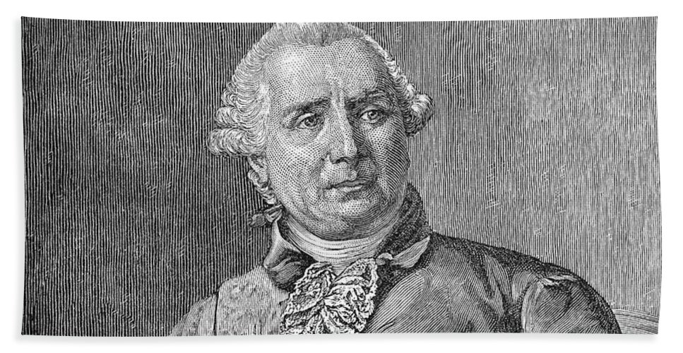 18th Century Hand Towel featuring the photograph Charles De Vergennes by Granger