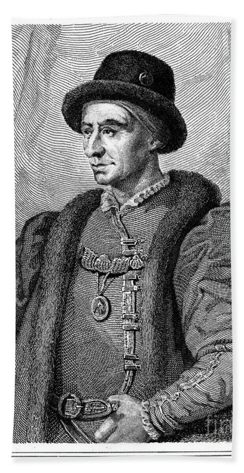 15th Century Hand Towel featuring the photograph Louis Xi (1423-1483) by Granger