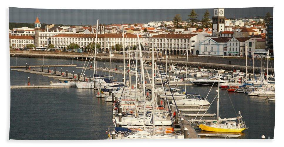 Portugal Bath Sheet featuring the photograph Ponta Delgada by Gaspar Avila