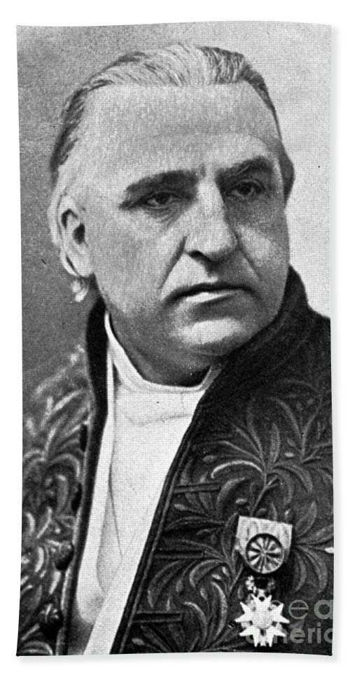 History Hand Towel featuring the photograph Jean-martin Charcot, French Neurologist by Science Source