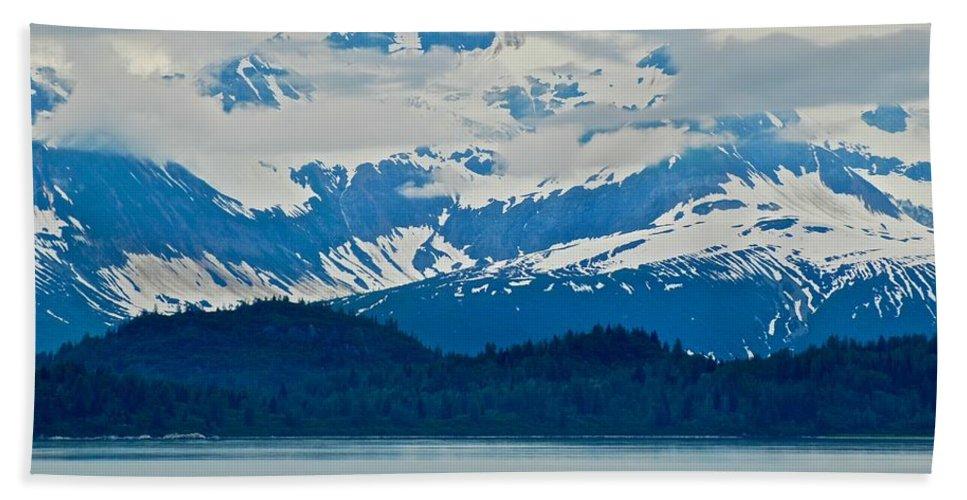 Alaska Bath Sheet featuring the photograph A Slice Of Alaska by Eric Tressler