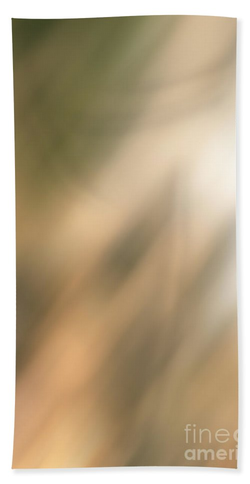 Abstract Hand Towel featuring the digital art Abstract Blur by Debbie Portwood