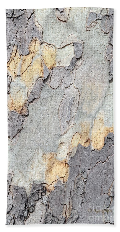 Abstract Nature Bath Sheet featuring the photograph Abstract Tree Bark II by Regina Geoghan