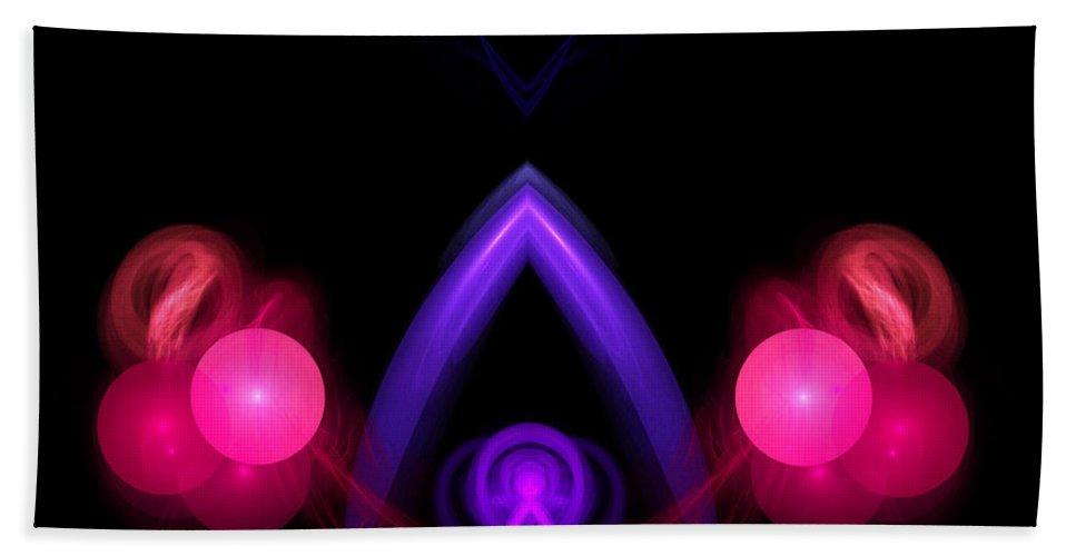 Fractal Digital Art Bath Sheet featuring the photograph Abstract Twenty by Mike Nellums