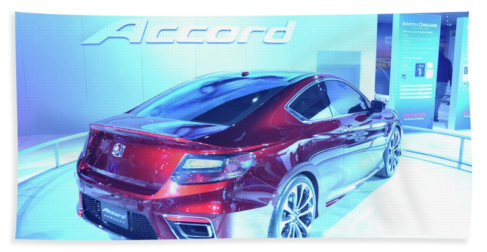 Auto Bath Sheet featuring the photograph Accord by Ronald Grogan