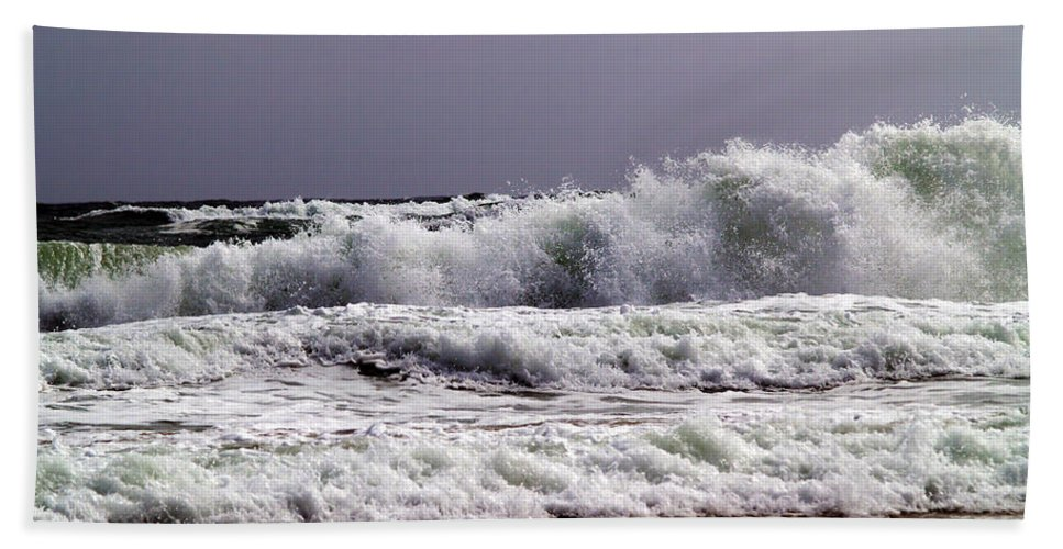 Fine Art Photography Bath Sheet featuring the photograph Aftermath Of A Storm IIi by Patricia Griffin Brett