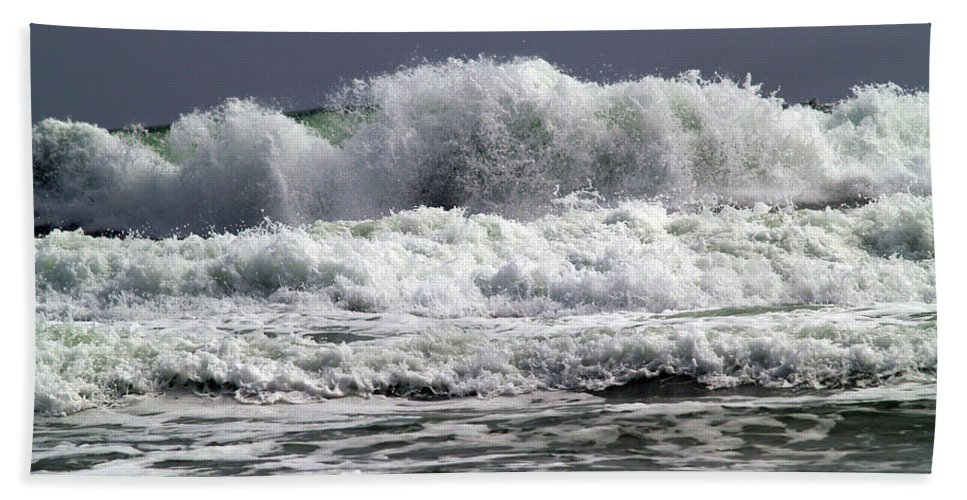 Fine Art Photography Bath Sheet featuring the photograph Aftermath Of A Storm Iv by Patricia Griffin Brett
