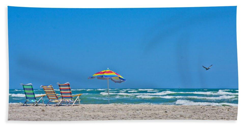Topsail Bath Sheet featuring the photograph Ahhh Vacation by Betsy Knapp