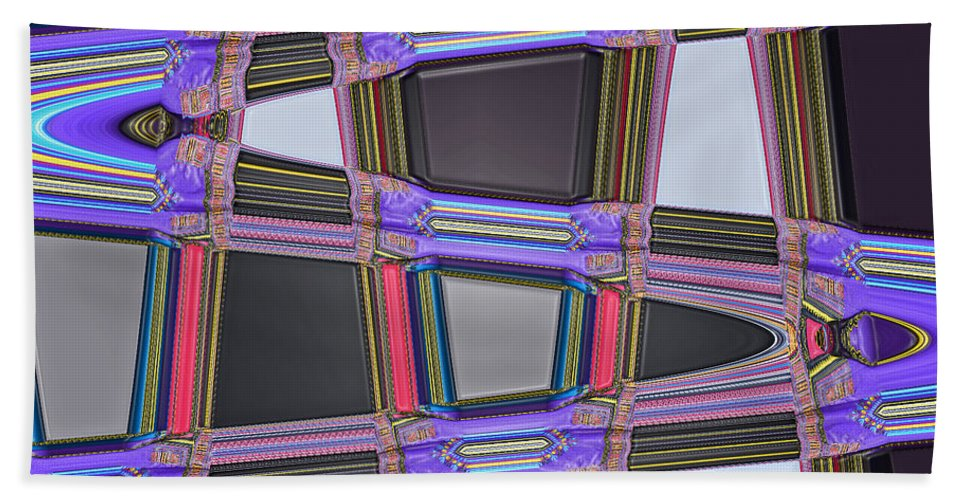 Digital Art Hand Towel featuring the photograph All Roads Lead by Bill Owen