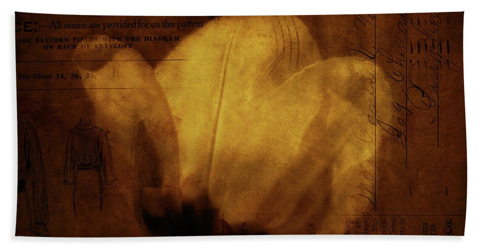 Seems Bath Sheet featuring the photograph All Seems Provided For by Rebecca Sherman
