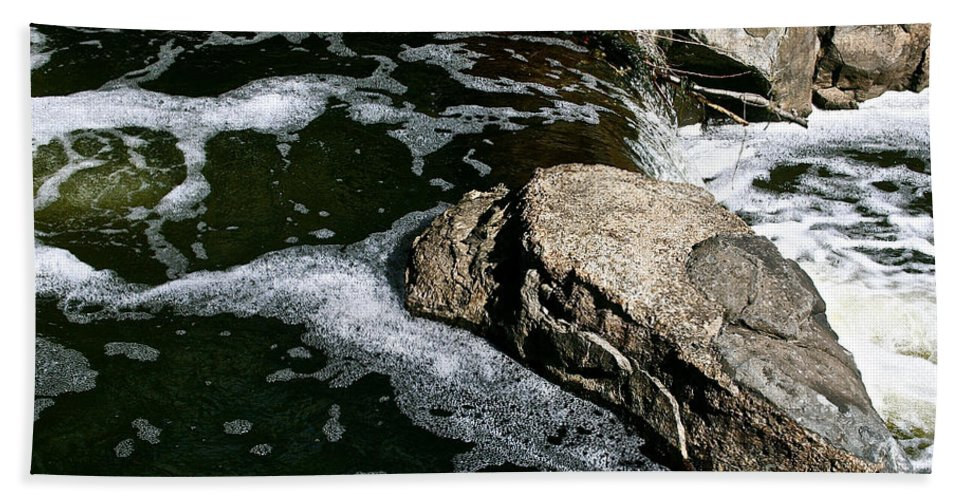 Outdoors Hand Towel featuring the photograph Almost Over by Susan Herber