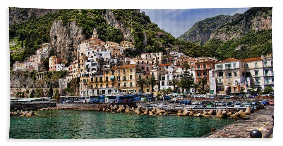 Amalfi Bath Sheet featuring the photograph Amalfi by David Smith