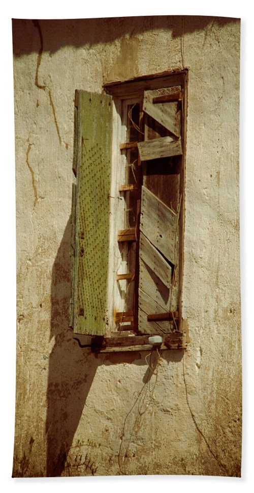 Window Hand Towel featuring the photograph Amelia's Window by Trish Tritz