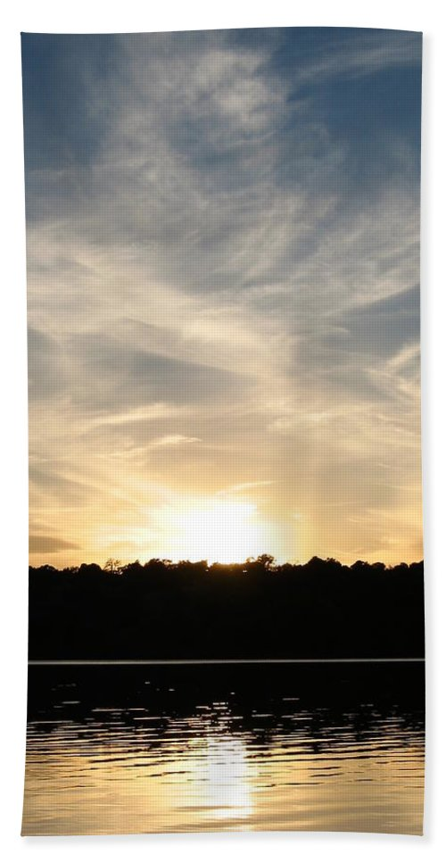 Colorado Hand Towel featuring the photograph An Evening On The Water by Kimberlee Fiedler