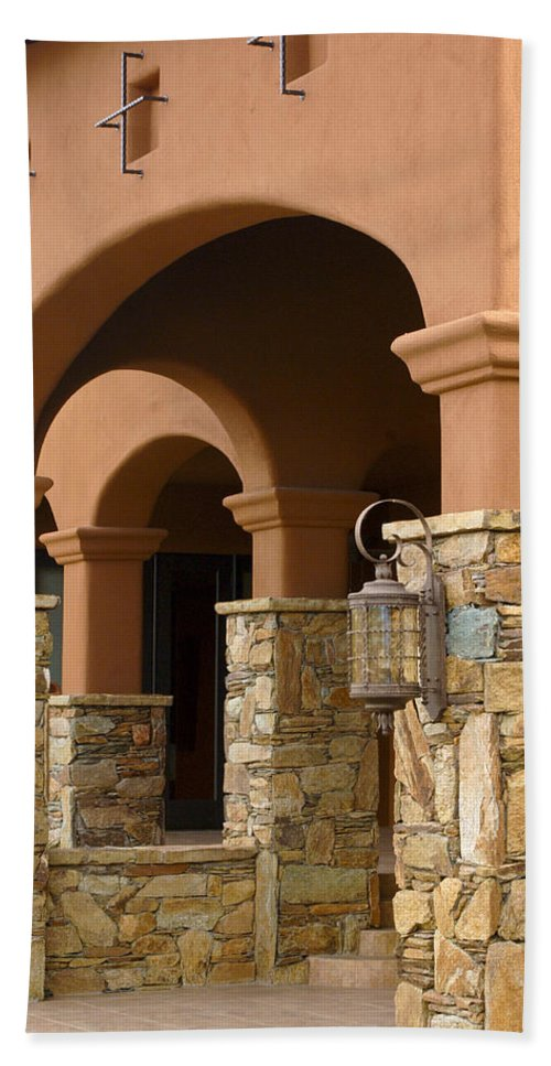 Architectural Detail Bath Sheet featuring the photograph Architectural Detail 7 by Jill Reger