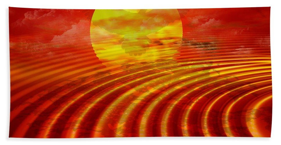Heat Bath Sheet featuring the digital art Arizona by Robert Orinski