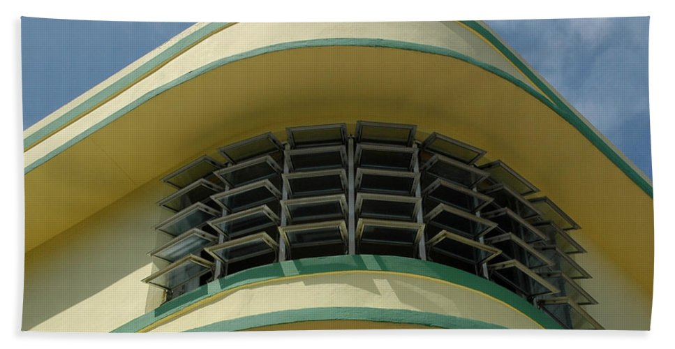Art Deco Bath Sheet featuring the photograph Art Deco Detail by Vivian Christopher