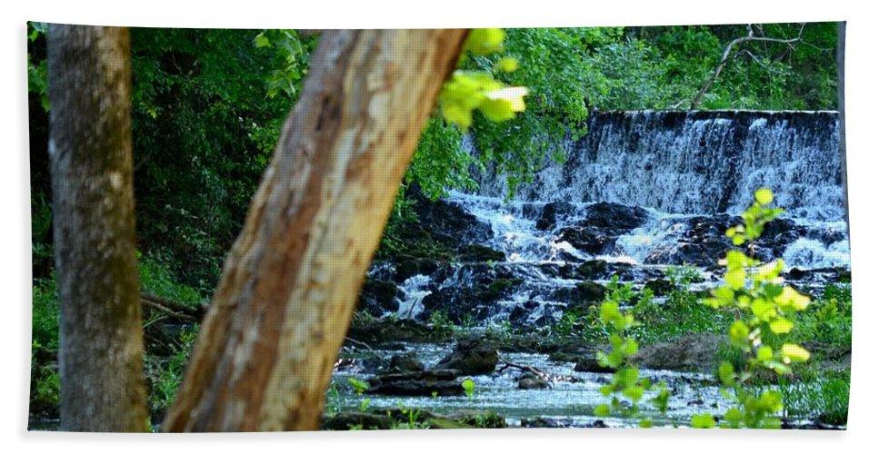 River Bath Sheet featuring the photograph As The River Runs Through It by Maria Urso