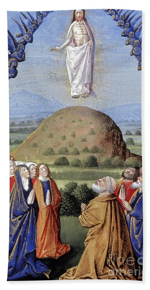 1480 Hand Towel featuring the photograph Ascension by Granger