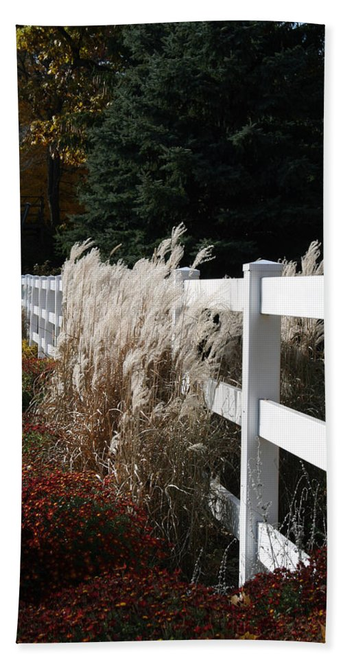 Nature Hand Towel featuring the photograph Autumn Is In The Air by Kay Novy