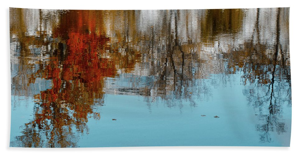 Autumn Hand Towel featuring the photograph Autumn by Michael Goyberg
