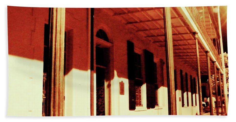 Baton Rouge Bath Sheet featuring the photograph Baton Rouge Downtown by Lizi Beard-Ward