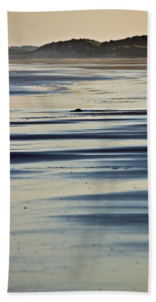 Beach Hand Towel featuring the photograph Beach Patterns by David Pringle