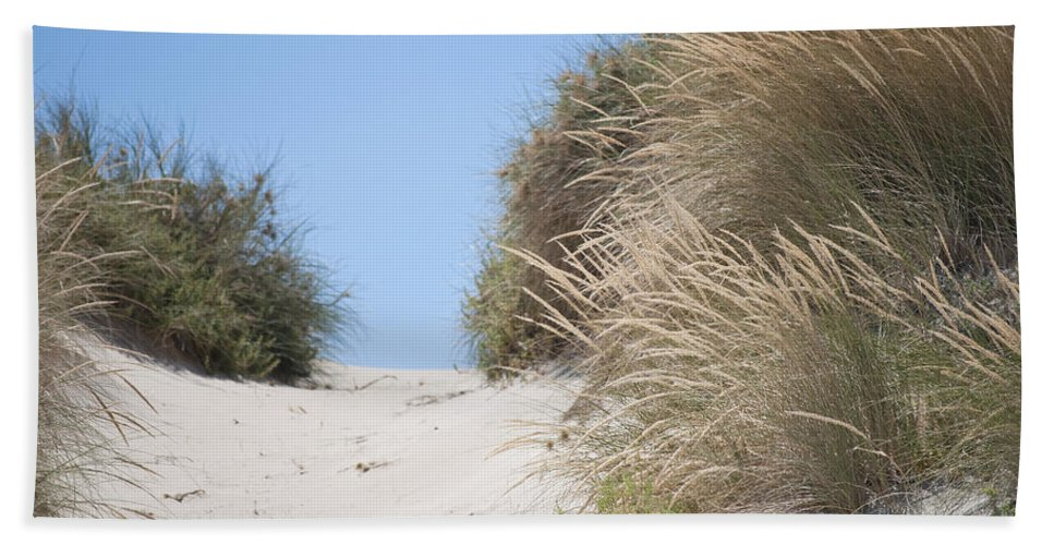 Beach Hand Towel featuring the photograph Beach Sand Dunes II by Michelle Wrighton
