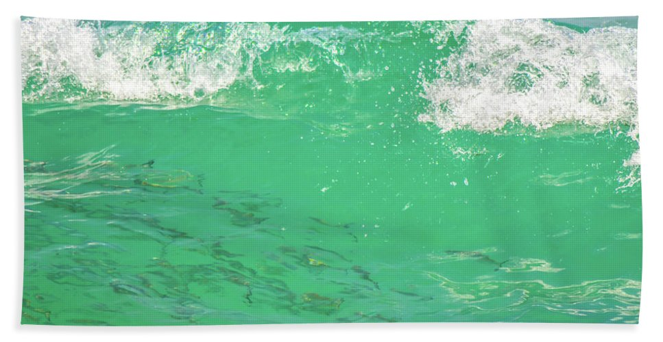Fish Bath Sheet featuring the photograph Beneath The Waves by Shannon Harrington