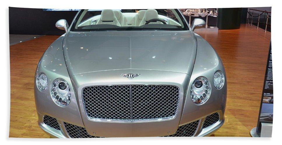 Bentley Bath Sheet featuring the photograph Bentley Starting Price Just Below 200 000 by Randy J Heath