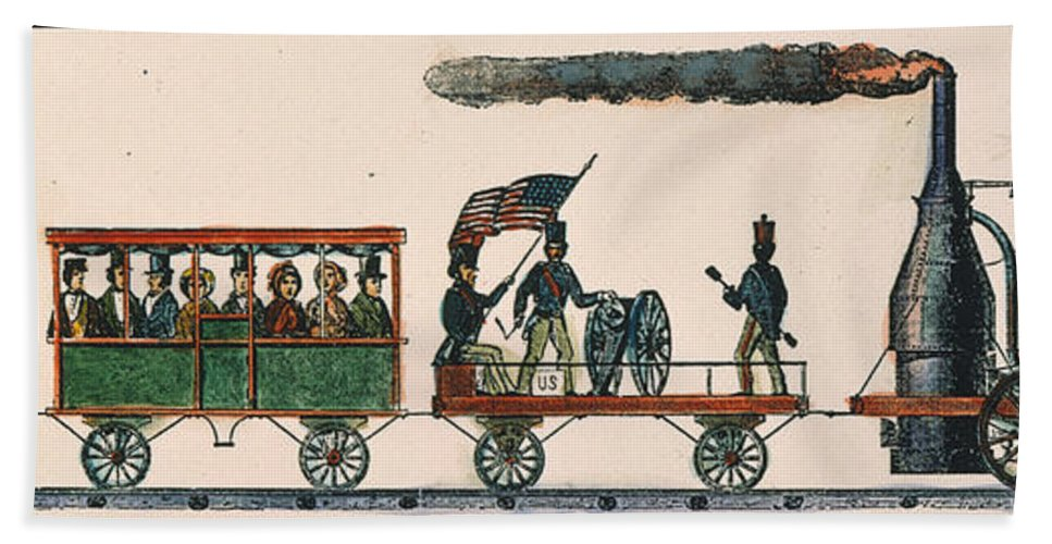 1830 Hand Towel featuring the photograph Best Friend Of Charleston by Granger