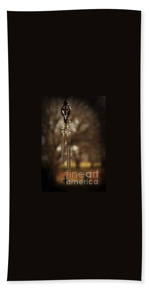 Wind Chimes Bath Sheet featuring the photograph Beyond by Kim Henderson