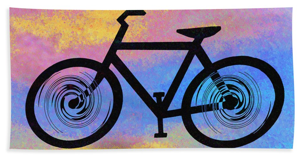 Bicycle Shop Bath Sheet featuring the photograph Bicycle Shop by Bill Cannon