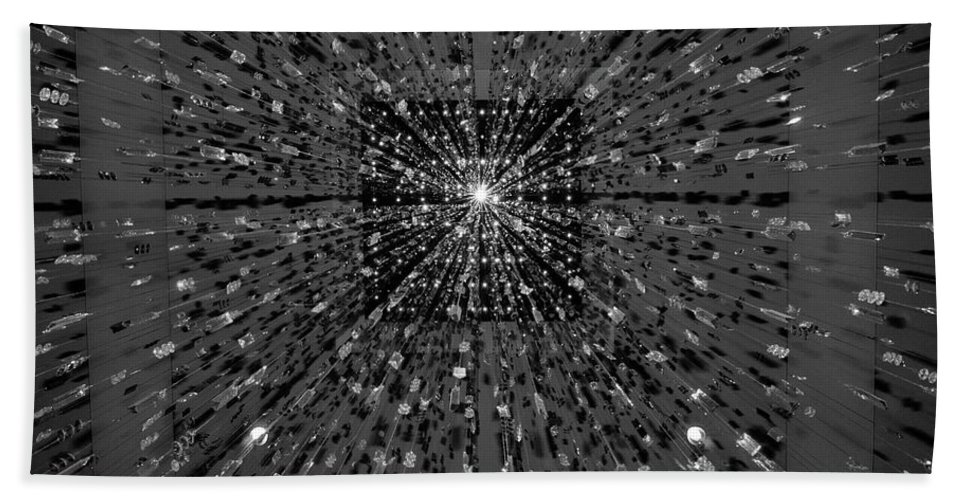 Guy Whiteley Photography Hand Towel featuring the photograph Big Bang by Guy Whiteley