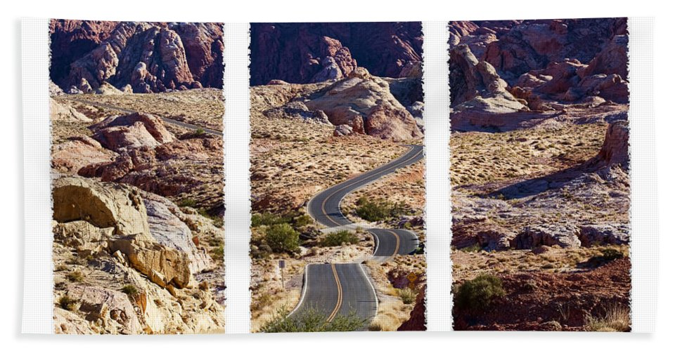 Valley Road Bath Sheet featuring the photograph Big Dip by Kelley King