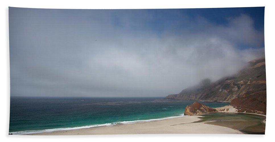 Big Sur Bath Sheet featuring the photograph Big Sur by Ralf Kaiser