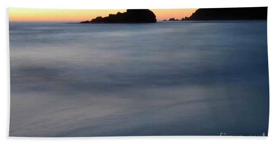 Pfeiffer Rock Bath Sheet featuring the photograph Big Sur Silk by Bob Christopher