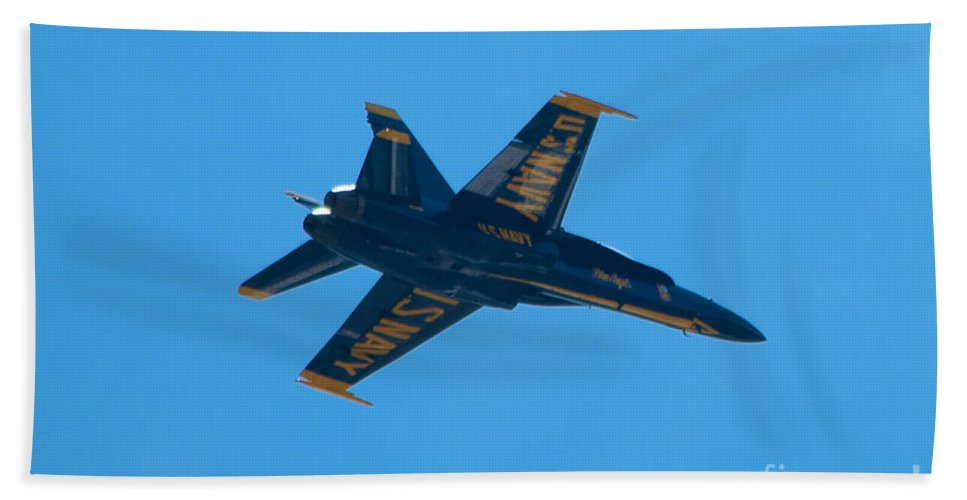 Blue Angels Hand Towel featuring the photograph Blue Angels 22 by Mark Dodd
