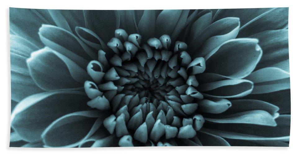 Blue Flower Bath Sheet featuring the photograph Blue Flower by Dawn OConnor
