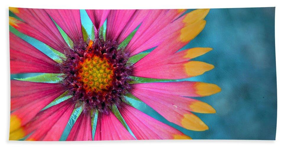 Flower Bath Sheet featuring the photograph Boldness by Tara Turner