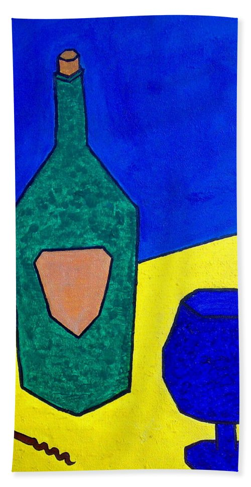 Imaginative Bath Sheet featuring the painting Brandy By Jessica by Tis Art