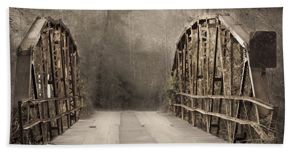 Hand Towel featuring the photograph Bridge After Lightroom by Kim Henderson