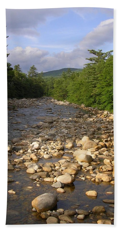 New England Bath Sheet featuring the photograph Brook 1 by Sarah Lamoureux