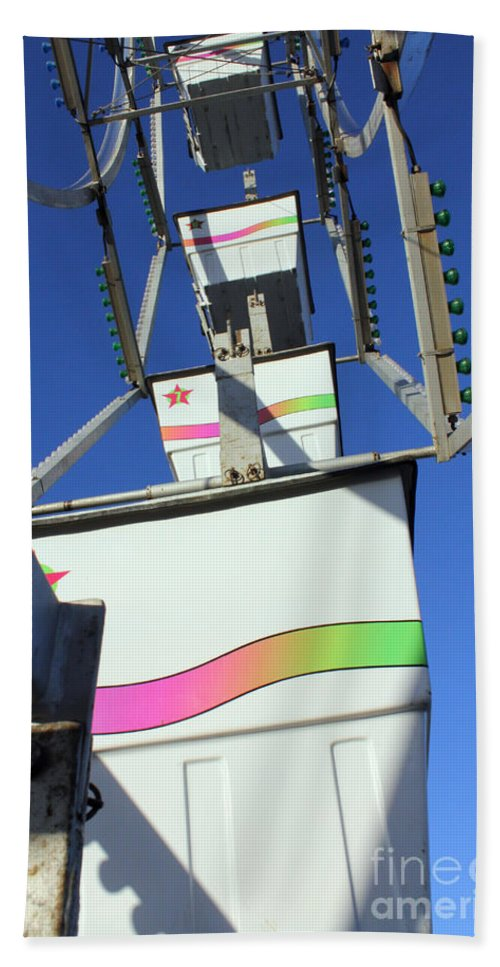 Carnival Hand Towel featuring the photograph Bucket List by Alycia Christine