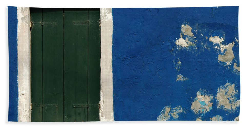 Burano Bath Sheet featuring the photograph Burano Italy 11 by Mike Nellums